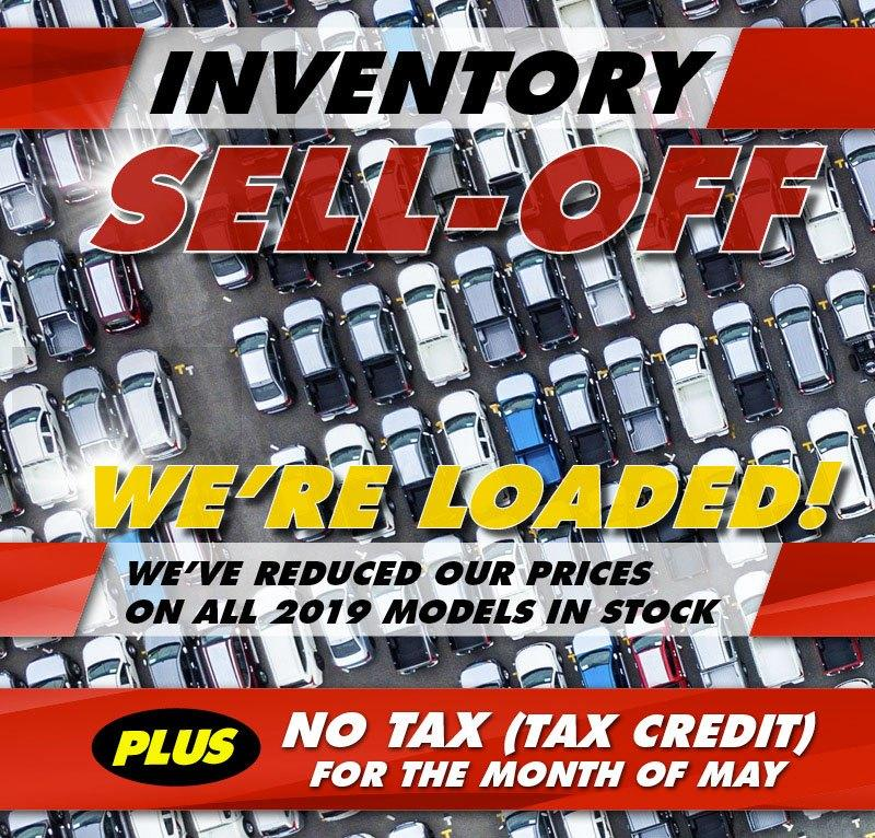 2019 Inventory Sell-Off at Maple Ridge Chrysler Jeep Dodge in 11911 West St